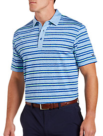 Callaway Heathered Stripe Polo