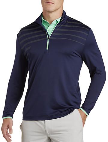 Callaway® Weather Series Pixelated-Print Quarter-Zip Pullover | Golf