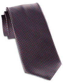 Brioni Small Circle Neat Silk Tie