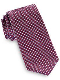 Brioni Small Box Neat Silk Tie