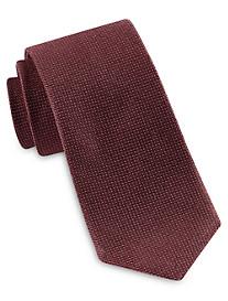 Brioni Textured Micro Dot Silk Tie