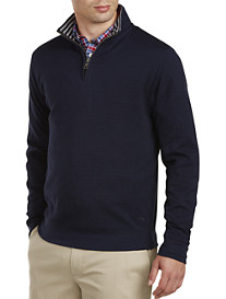 Brooks Brothers® Doubleface Half-Zip Pullover