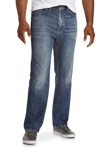 Lucky Brand® Mount Wilson Medium Wash Jeans – 181 Relaxed Straight Fit