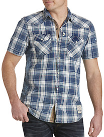 Buffalo David Bitton® Simila Plaid Sport Shirt
