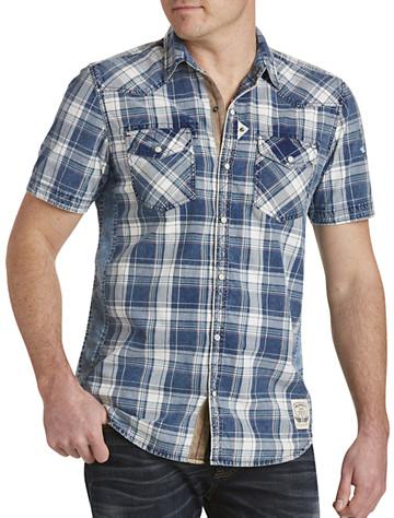 Buffalo David Bitton® Simila Plaid Sport Shirt - $85.00