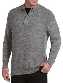 Society of One Quarter-Zip Cotton Jersey Pullover