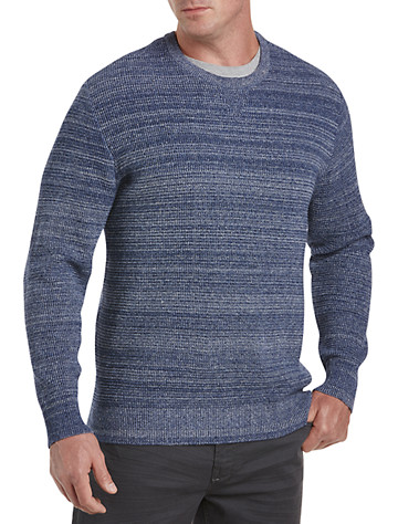 Society of One® Tuck-Stitch Crewneck Sweater