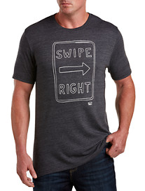 Original Penguin® Swipe Right Graphic Tee
