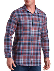Original Penguin Twisted-Yarn Flannel Sport Shirt