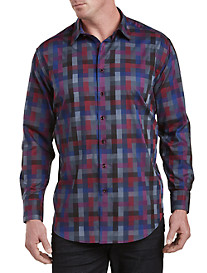 Robert Graham DXL Multi Check Sport Shirt