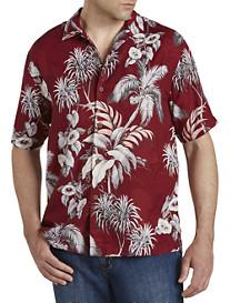 Tommy Bahama Boca Da Palm Silk Camp Shirt