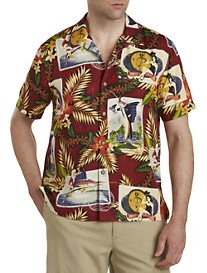 Tommy Bahama Tommy Holidays Silk Camp Shirt