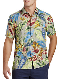 Tommy Bahama Taza Fronds IslandZone Camp Shirt