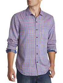 Tommy Bahama® Double-Weave Gingham Sport Shirt
