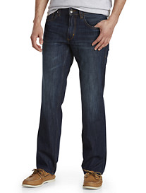 Tommy Bahama® Barbados Authentic Straight Fit Stretch Jeans – Dark Indigo Wash