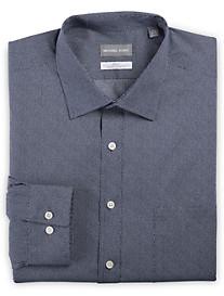 Michael Kors® Non-Iron Dot Print Stretch Dress Shirt