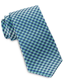 Rochester Gingham Plaid Silk Tie