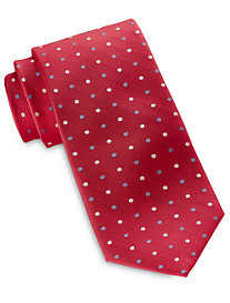Rochester Medium Oxford Dot Silk Tie