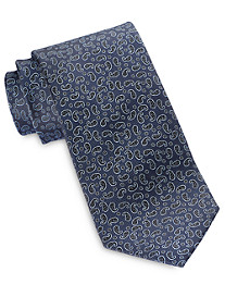 Rochester Small Paisley Neat Silk Tie
