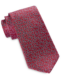 Rochester Small Paisley Neat Silk Tie