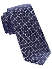 Michael Kors Labyrinth Neat Silk Tie