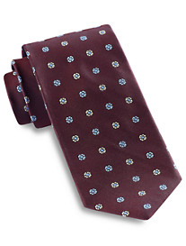 Keys & Lockwood Spaced Neat Silk Tie