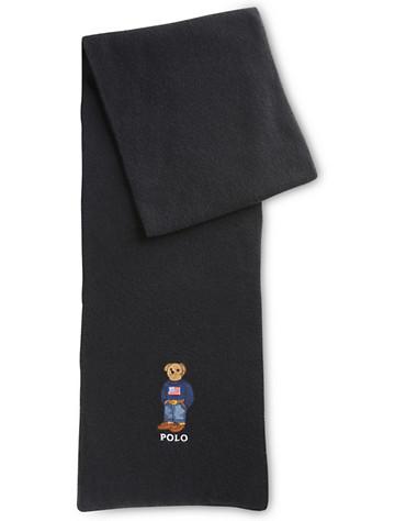 Polo Ralph Lauren® American Flag Bear Scarf - $58.00