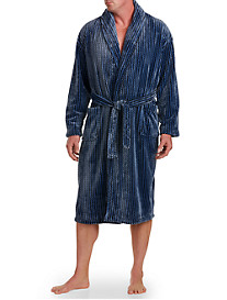 Majestic International® Metro Marled Fleece Robe
