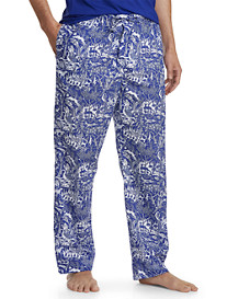 Derek Rose™ Animal-Print Woven Lounge Pants