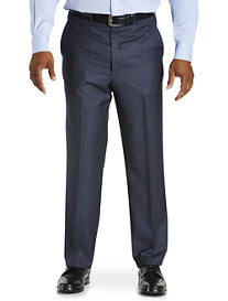 Ballin Houndstooth Comfort-EZE Flat-Front Dress Pants