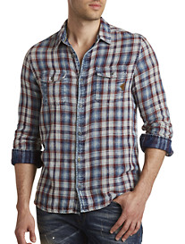 Buffalo David Bitton® Sabera Plaid Sport Shirt