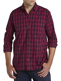 Cutter & Buck® Non-Iron Prescott Plaid Sport Shirt