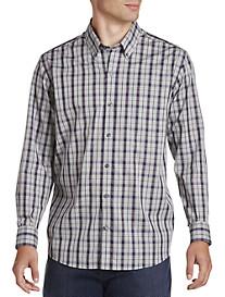 Cutter & Buck® Non-Iron Monte Plaid Sport Shirt