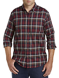 Cutter & Buck® Non-Iron Dry Creek Plaid Sport Shirt