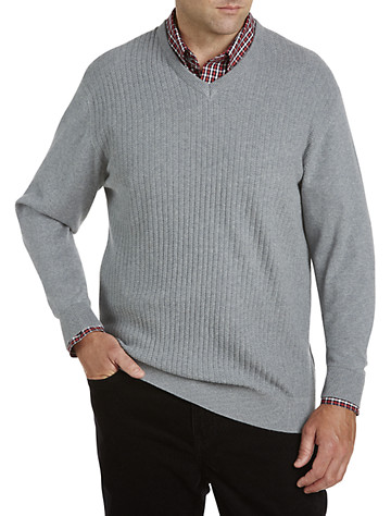 Cutter & Buck® Bryant Cotton V-Neck Sweater | Sweaters & Vests