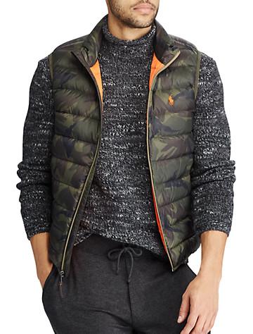 Polo Ralph Lauren® Packable Camo Down Vest | Vests