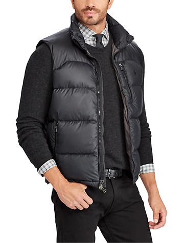 Polo Ralph Lauren® Quilted Ripstop Down Vest | Vests