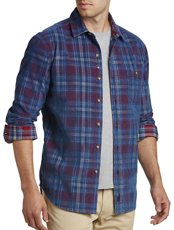 johnnie-O® Salina Plaid Corduroy Shirt
