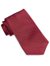 Robert Talbott Geo Crosshatch Neat Silk Tie