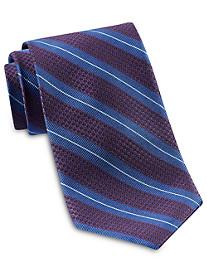 Robert Talbott Abstract Textured Stripe Silk Tie