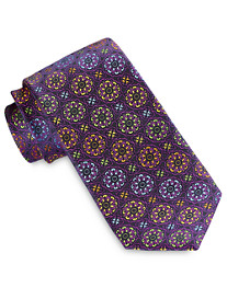 Robert Talbott Best of Class Multi Color Medallion Silk Tie