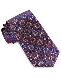 Robert Talbott Best of Class Multi Color Medallion Silk Tie