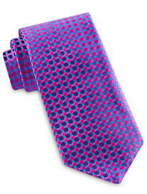 Robert Talbott Best of Class Abstract Medium Repeating Dot Silk Tie