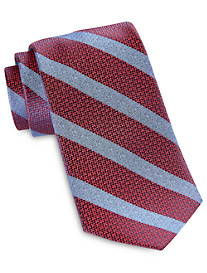 Robert Talbott Best of Class Medium Textured Stripe Silk Tie