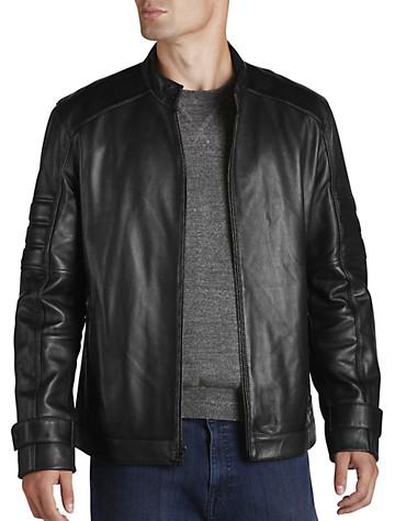 Marc New York Andrew Marc Moto Leather Jacket
