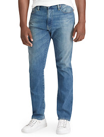 Polo Ralph Lauren® Hampton Relaxed Straight Fit Lightweight Dixon Wash Jeans