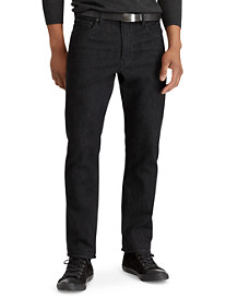 Polo Ralph Lauren® Prospect Straight Fit Stretch Harris Black Wash Jeans