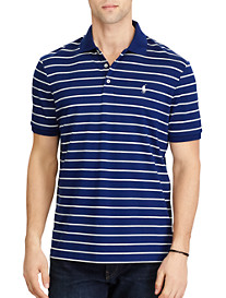 Polo Ralph Lauren® Classic Fit Stripe Soft Touch Polo (holiday navy)