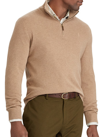 Polo Ralph Lauren® Merino Wool Half-Zip Sweater