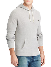 Polo Ralph Lauren® Waffle-Knit Cotton Hoodie